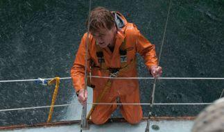 Ein Mann (Robert Redford) im Kampf gegen die Mächte der hohen See. (Foto)