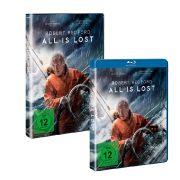 Blu-ray und DVD zu «All Is Lost» sind seit dem 23. Mai 2014 im Handel erhältlich.