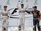 Seit einem Jahr siegten nur Vettel, Rosberg & Hamilton (Foto)