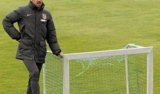 Einsatz, Kampf: Simeone verkörpert Atléticos Tugenden (Foto)
