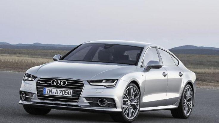 Facelift für Audi A7 Sportback:Das Coupé wird kantiger (Foto)