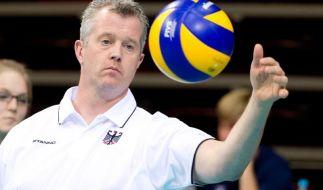 Ansporn Weltliga: Volleyballer vor dem Auftakt (Foto)