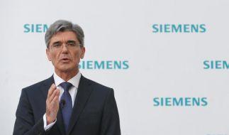 Siemens-Chef Kaeser will GE die Stirn bieten (Foto)