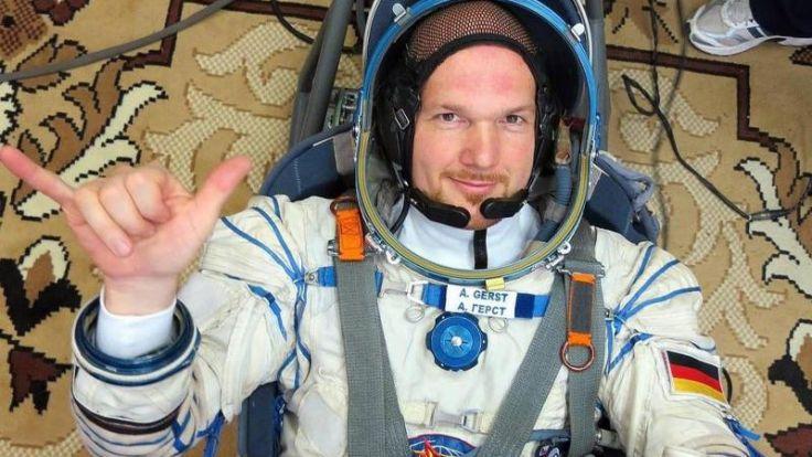 Astronaut Gerst startet mit Popsongs ins Weltall (Foto)