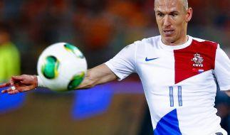 Robben steigt in WM-Vorbereitung der Niederlande ein (Foto)