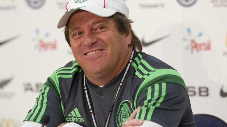 Mexikos Trainer Herrera fordert Sex-Verzicht (Foto)