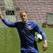 Ter Stegen in Barcelona -«Wird die Nummer eins sein» (Foto)