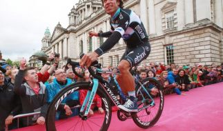 Zeitfahren beim Giro: Kolumbianer Uran gewinnt 12. Etappe (Foto)