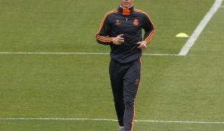 Vor CL-Finale: Ronaldo, Bale und Costa trainieren (Foto)