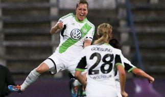 Wolfsburgerinnen verteidigen CL-Titel (Foto)