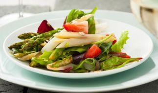 Erdbeer-Spargel-Salat (Foto)