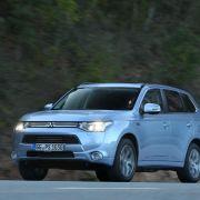 Outlander PHEV: Neuer Plug-in-Hybrid von Mitsubishi (Foto)
