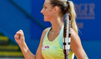 Bouchard und Pliskova stehen im Finale in Nürnberg (Foto)
