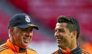 Madrider Derby im Champions-League-Finale mit Ronaldo (Foto)