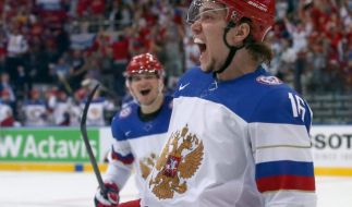 Russland und Finnland bestreiten WM-Finale (Foto)