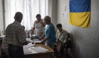 Ukraine-Präsidentenwahl mit großen Problemen im Osten (Foto)