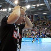 Löwen-Trainer Gudmundsson kritisiert Bundesliga-Modus (Foto)