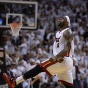 Titelverteidiger Miami auf NBA-Finalkurs (Foto)