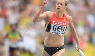 Deutsche Staffel-Frauen für Peking qualifiziert (Foto)