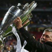 Trainer Ancelotti erster Dreifach-Sieger (Foto)