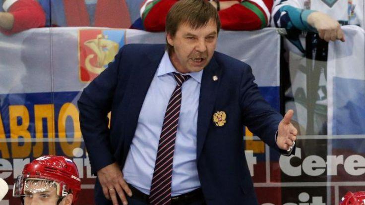 «Kopf ab»-Geste: WM-Finale ohne russischen Coach (Foto)