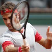 Federer ohne Probleme in die zweiteFrench-Open-Runde (Foto)