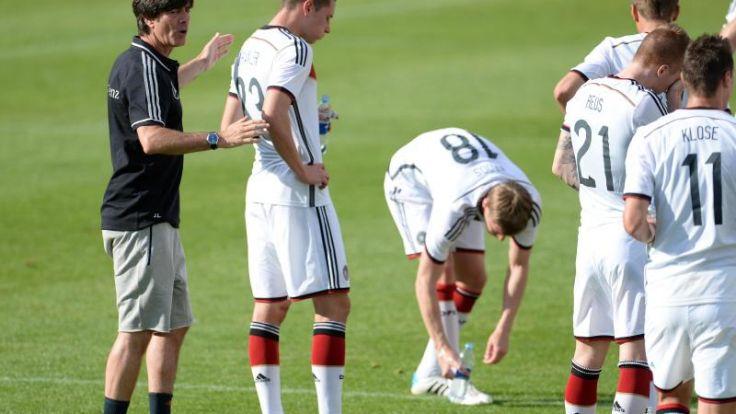 Löw spricht zur Lage in der WM-Vorbereitung (Foto)