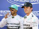 Rosberg setzt im Zoff mit Hamilton auf Aussprache (Foto)