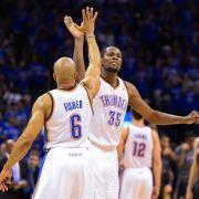 Oklahoma meldet sich in NBA-Halbfinalserie zurück (Foto)