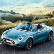 Brite im italienischen Designkleid:Mini zeigt Roadster-Studie (Foto)