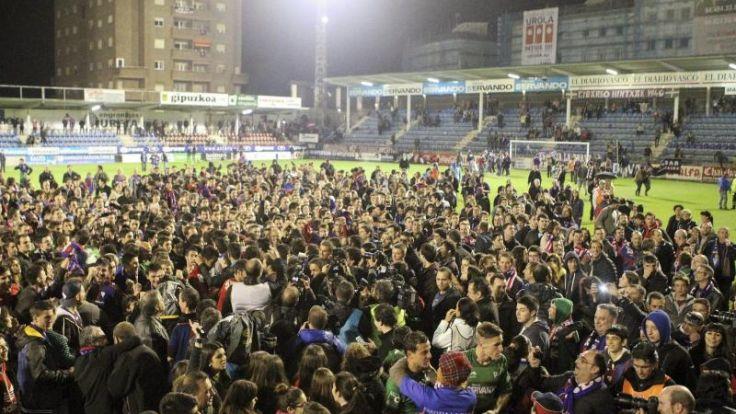 Fußball-Zwerg Eibar lässt Spanien staunen (Foto)