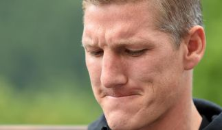 Genervter Schweinsteiger klammert sich an WM-Traum (Foto)