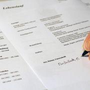 Tippfehler und Flecken: Darauf achten Personaler (Foto)