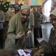 Wahl in Ägypten bleibt relativ friedlich (Foto)