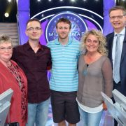 Bärbel Karge, Tino Graf, Tobias Kunkemöller und Elli Frick gehören zu den Überraschungskandidaten im heutigen Überraschungs-Special bei «Wer wird Millionär?».