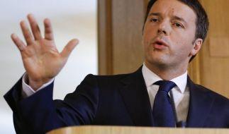 Dank Prostitution, Schmuggel und Drogenhandel könnte Italiens Regierungschef Matteo Renzi bald mehr Schulden machen. Grund: Ein neues Berechnunsgmodell. (Foto)
