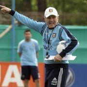 «Vamos Argentina»: Messi & Co. starten WM-Vorbereitung (Foto)