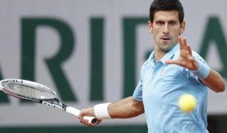 Djokovic mit leichtem Auftakterfolg bei French Open (Foto)