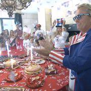 Carmen und Robert Geiss feiern Töchterchen Davinas Geburtstag unter dem Motto «New York Forever».