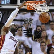 Miami Heat vor erneutem NBA_Final-Einzug (Foto)