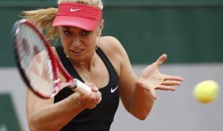 Musste gegen ihre frühere Doppelpartnerin Mona Barthel antreten: Sabine Lisicki. (Foto)