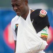 Kameruns Webo zieht sich Schulterverletzung zu (Foto)
