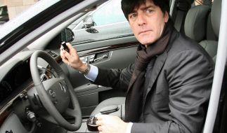 Darf sich nicht mehr ins Auto setzen: Jogi Löw. (Foto)