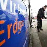 Treibstoff-Vergleichstest: Erdgas halbiert die Kosten (Foto)