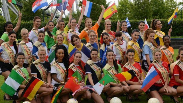 Jury kürt «Miss WM» (Foto)