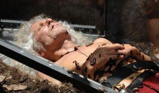 Rainer Langhans spielte im Dschungecamp Tod. (Foto)