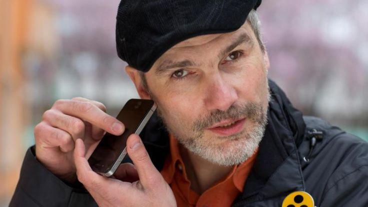 Smartphones für Blinde - Auf die Software kommt es an (Foto)