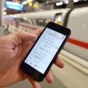 ICE-Züge sollen bis Jahresende stabiles Internet haben (Foto)