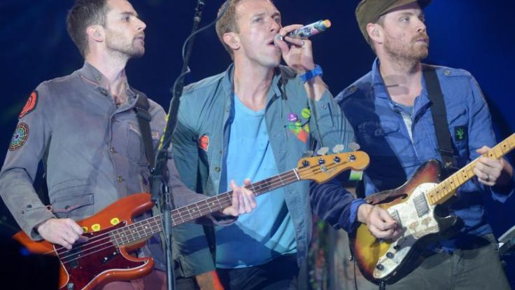 Coldplay mit «Ghost Stories» auf Platz eins der Charts (Foto)