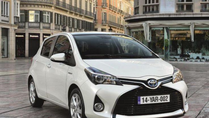 Modellpflege macht Toyota Yaris sparsamer (Foto)